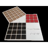 Kare Parçalı Pisagor Teoremi v1