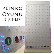 Plinko Oyunu (Led Işıklı)